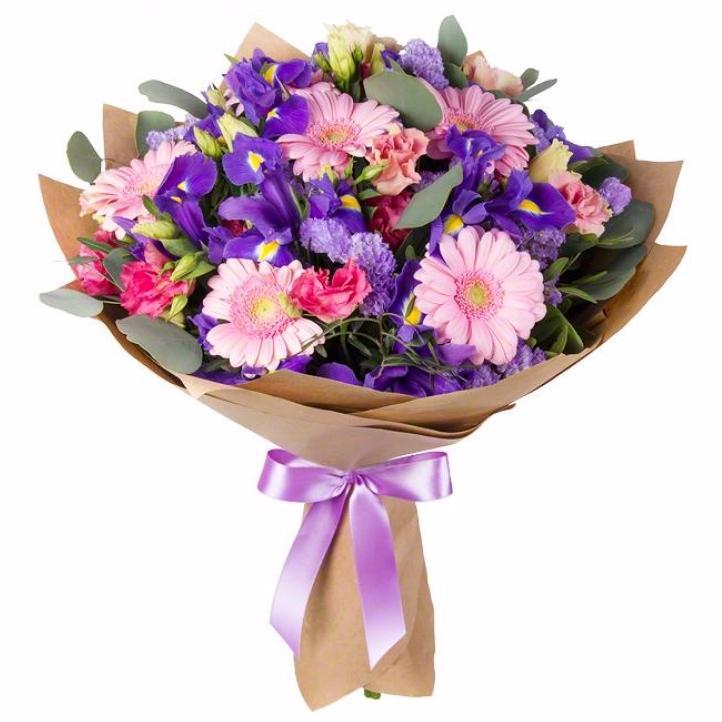 Цветы, оформление букета на сайте